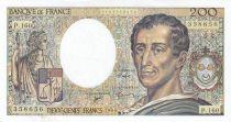 France 200 Francs Montesquieu 1994 - Serial C.158