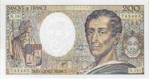 France 200 Francs Montesquieu 1994 - Serial N.161
