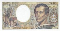 France 200 Francs Montesquieu 1994 - Serial U.161
