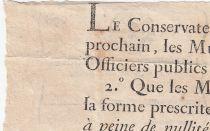 France 24 Sols  Loterie des Enfans Trouvés - Louis XV (1715-1744) - VF