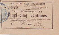 France 25 cent. Corbie