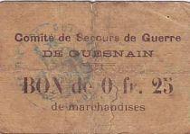 France 25 cent. Guesnain