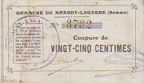 France 25 cent. Monchy-Lagache