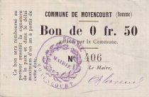 France 25 cent. Moyencourt