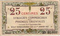 France 25 cent. Pyrénées Orientales