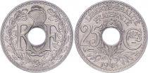 France 25 Centimes,  Lindauer - 1915 Souligné  - SPL