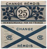 France 25 Centimes - Reims - aUNC