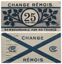 France 25 Centimes - Reims - P.NEUF