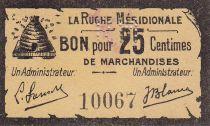 France 25 Centimes Agen La Ruche Méridionale