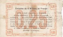 France 25 Centimes Fourmies Ville - 1915