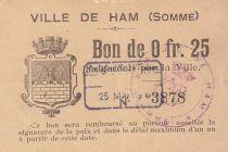 France 25 Centimes Ham