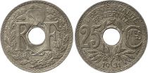 France 25 Centimes Lindauer - 1931