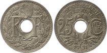 France 25 Centimes Lindauer - 1931