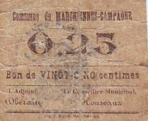 France 25 Centimes Marchiennes-Campagne