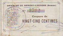 France 25 Centimes Monchy-Lagache