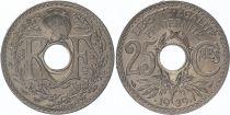 France 25 Centimes Monogram RF - 1939 - UNC