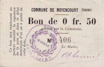 France 25 Centimes Moyencourt