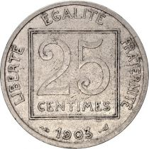 France 25 Centimes Patey - 1903