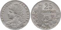France 25 Centimes Patey - 1905