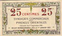 France 25 Centimes Pyrénées Orientales