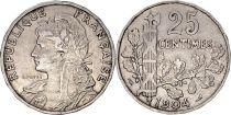 France 25 Centimes Republic - 1904