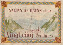 France 25 Centimes Salins-Les-Bains Ville