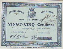France 25 Centimes Trélon