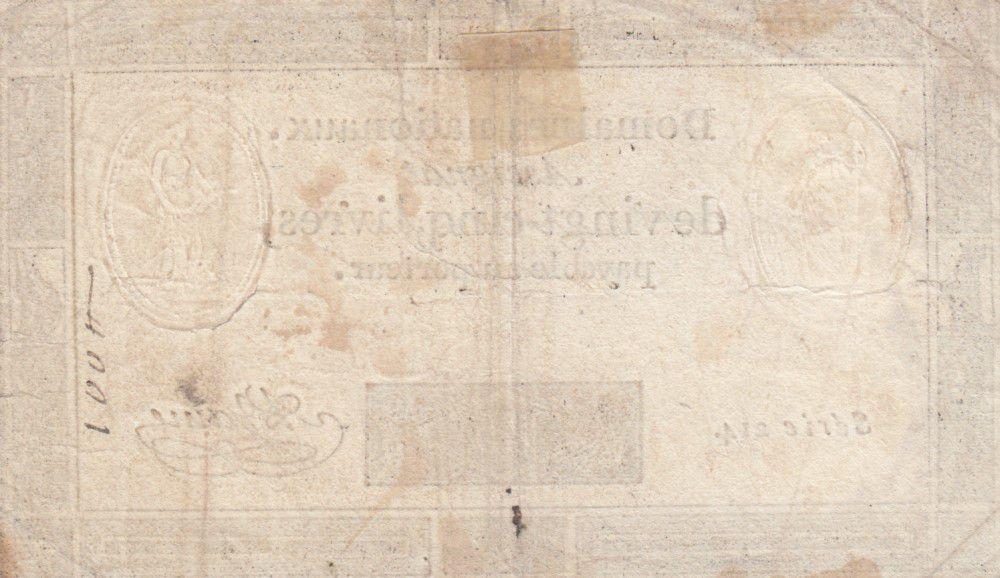 France 25 Livres - 06-06-1793 - Sign. A. Jame Série 214