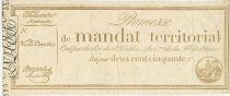France 250 Francs 28 Ventose An IV (18.3.1796) - Vérificateur