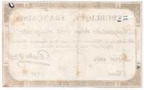 France 250 Livres 7 Vendemiaire An II - 28.9.1793 - Sign.  Dubosc - VG to F