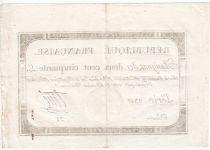 France 250 Livres 7 Vendemiaire An II - 28.9.1793 - Sign.  Tiné - TTB+