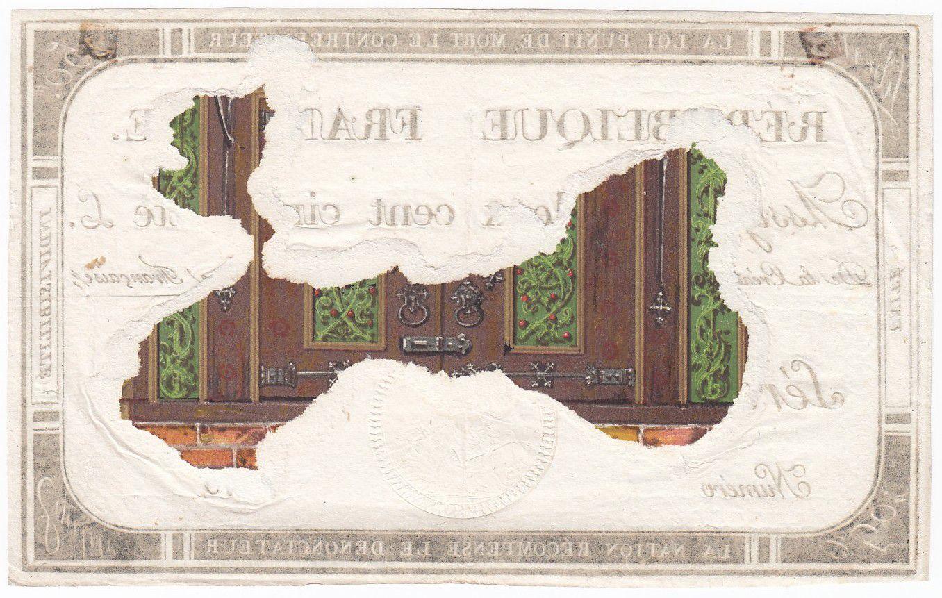 France 250 Livres 7 Vendemiaire An II - 28.9.1793 - Sign. Andrieu - TTB