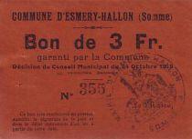 France 3 F Esmery-Hallon n° 355