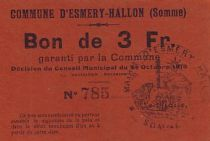 France 3 F Esmery-Hallon n° 785