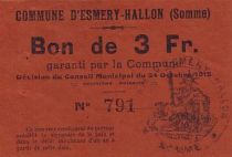 France 3 F Esmery-Hallon n° 791