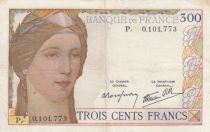 France 300 Francs Ceres and Mercury - 1938 - P. 0.101.773 -  VF - P.87