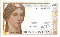 France 300 Francs Ceres and Mercury - 1939