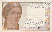 France 300 Francs Cérès et Mercure - 06-10-1938 - D.0988.194 - TTB