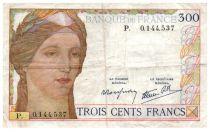 France 300 Francs Cérès et Mercure - 09-02-1939 - P.0.144.537 - TTB
