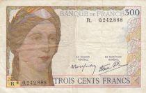 France 300 Francs Cérès et Mercure - 1938 - H.0.901.089 - TB