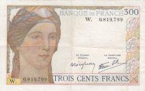 France 300 Francs Cérès et Mercure - 24-11-1938 - W.0819.799 - TTB - Série W. Rare