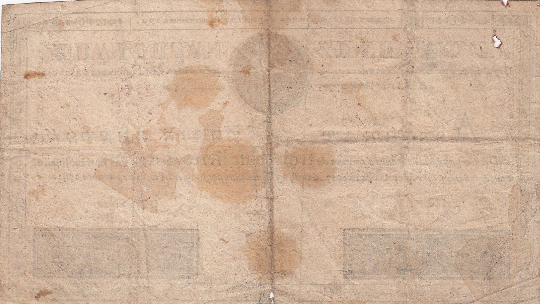 France 300 Livres Bust of Louis XVI - 19-06 et 12-09-1791 Serial E - Sign. Schveizer - F