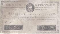 France 300 Livres Louis XVI - 19 Juin et 12 Sept. 1791 - Série C