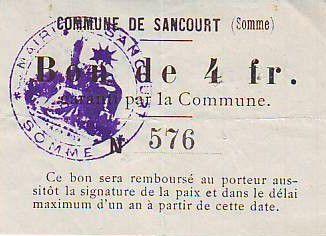 France 4 F Sancourt
