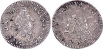 France 4 Sols, Louis XIV aux 2 L - 1693 N Montpellier - Argent