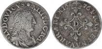 France 4 Sols Louis XIV aux Traitants  1696 - D Lyon - Argent