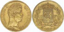 France 40 Francs Charles X - 1830 A Paris - Gold