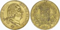 France 40 Francs Louis XVIII - 18178 W Lille - Gold