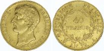 France 40 Francs Napoleon Consul - An 12 A Paris - Gold