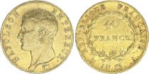 France 40 Francs Napoleon I Empereur - An 13 A Paris - Gold